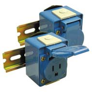Din Rail Receptacles