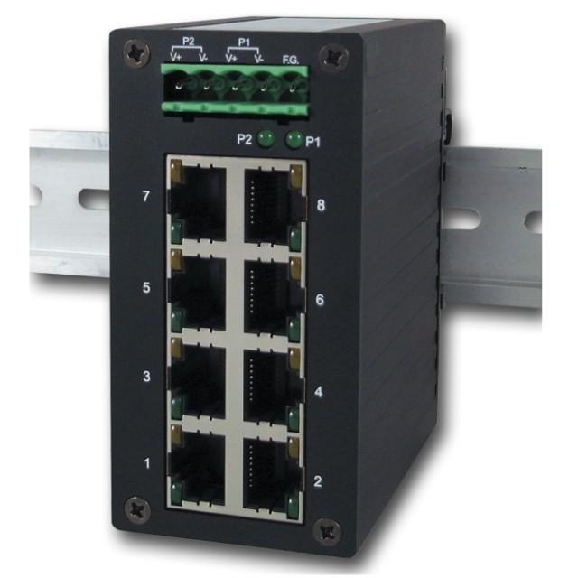 Mencom E45UM-8-MT Ethernet Switch