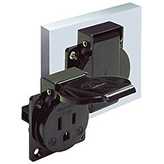 Altech PMRBA Panel Mount Receptacle
