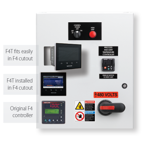 F4T Touch Screen Process Controller Panel