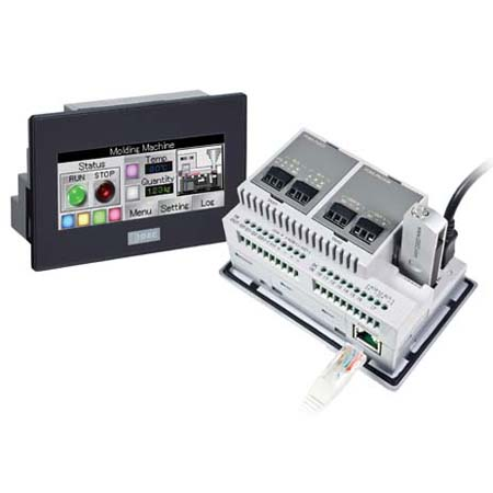 IDEC FT1A Touchscreen Interface & Logic Controller