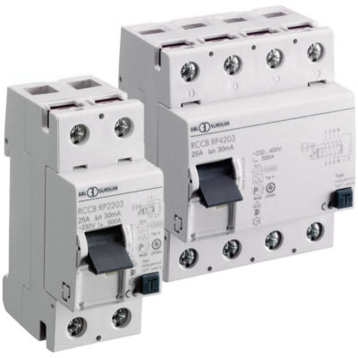 Altech RP Series Din Rail Ground Fault Breakers